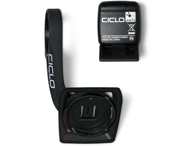 Ciclosport HAC 1.X Cockpit Handlebar Mount Set incl. Speed Sensor